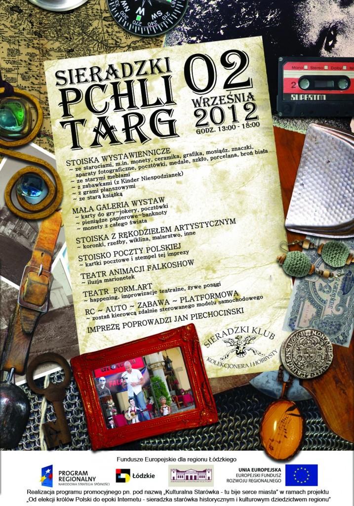 Sieradzki Pchli Targ - plakat